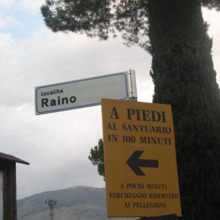 Santuario località RAINO - Itri (1)