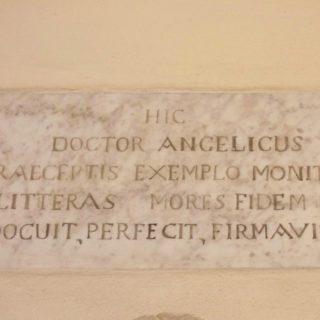 targa convento di S. Domenico